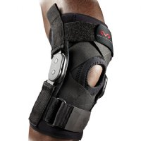 Deluxe Hinged Knee Brace for Hyperextension by McDavid